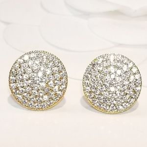 Jewelry - NEW Diamon Studs Pave CZ Earrings